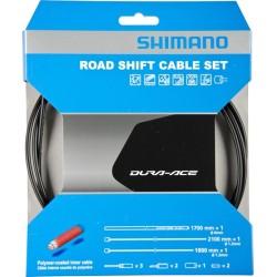 Kit fili e guaina cambio Shimano Dura-Ace BC-9000 polimer Nero