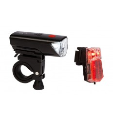 Set di fanali LED RFR CMPT (Matt black) Cube