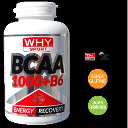 Aminoacidi Ramificati BCAA 1000 + B6 Why Sport